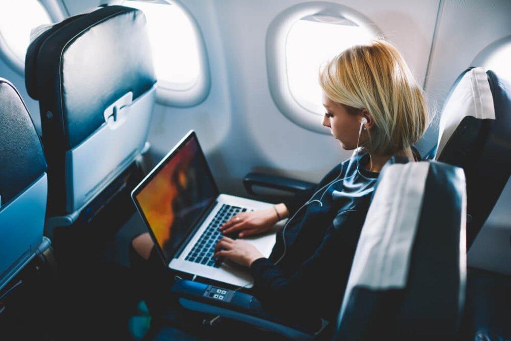 Uçakta Rahatlıkla Çalışabilmek İçin İpuçları