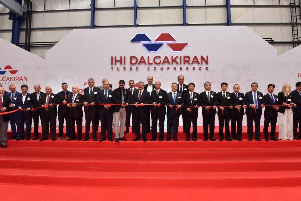 IHI DALGAKIRAN Turbo Kompressor Fabrika Açılış Organizasyonu