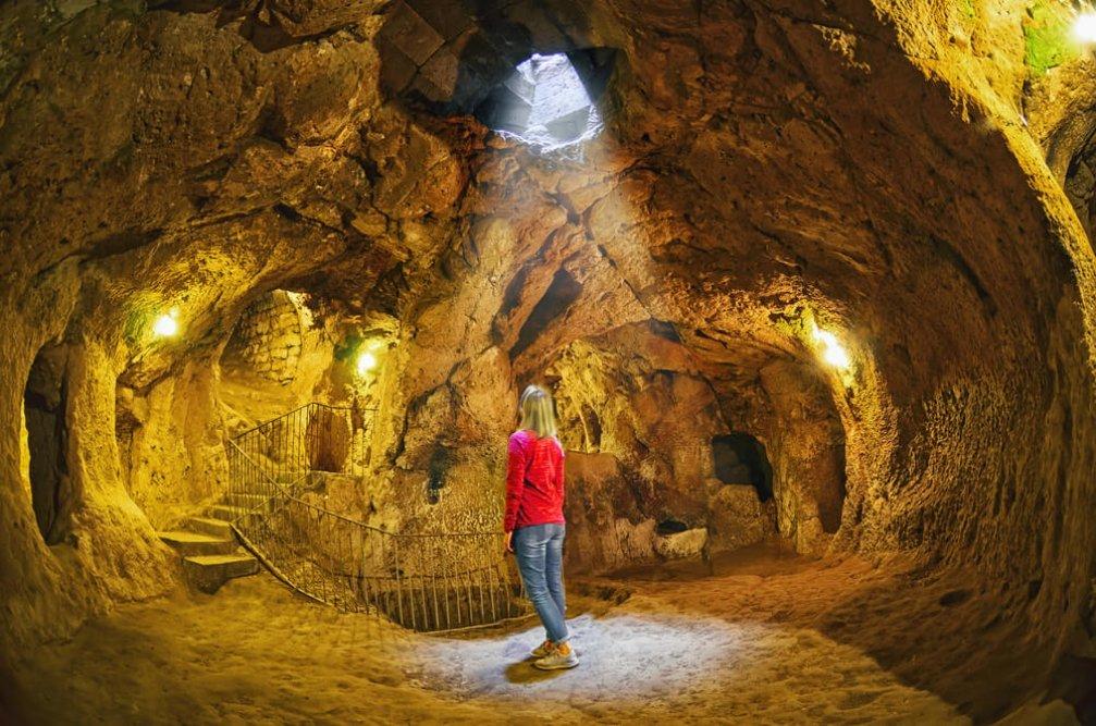 Kapadokya'nın Birbirinden Gizemli Yeraltı Şehirleri