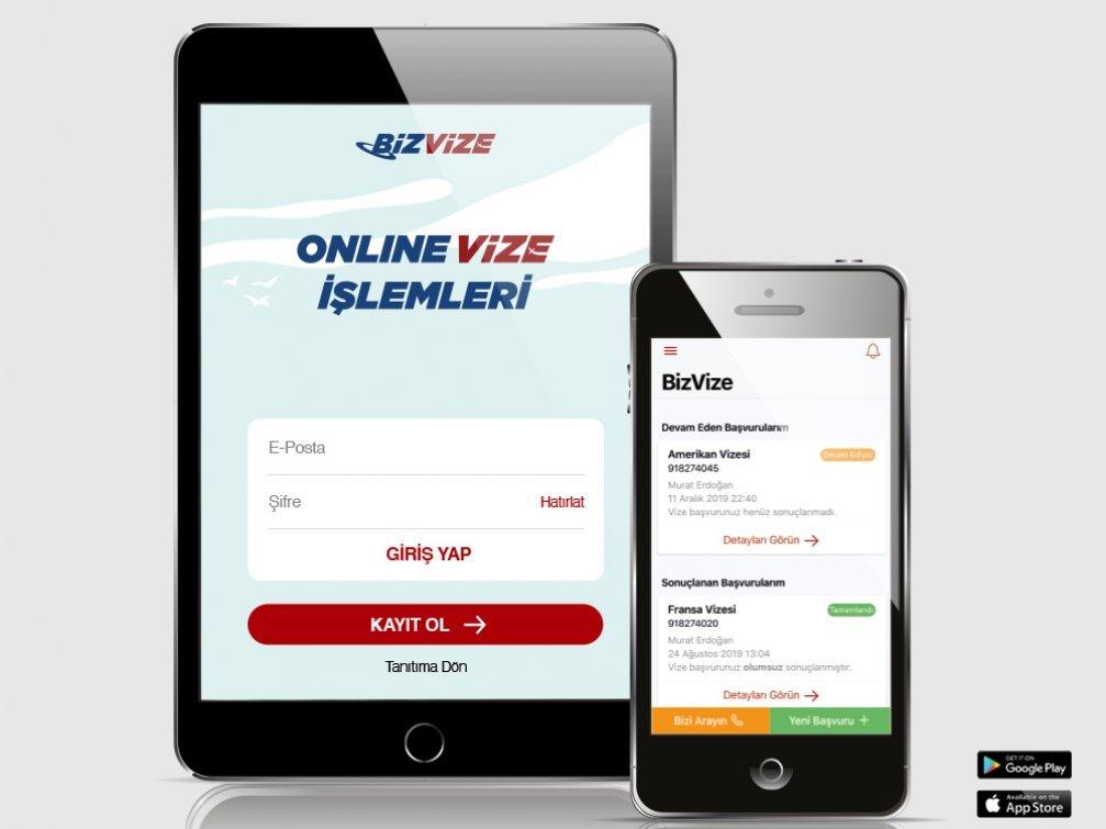 Türkiye'nin İlk Online Vize Uygulaması: BizVize