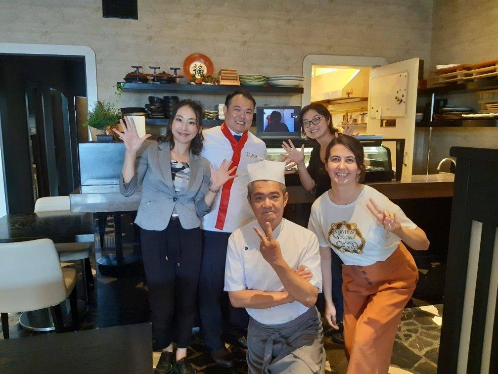 Online Sushi Yapım&Tadım Etkinliğimizi Geride Bıraktık
