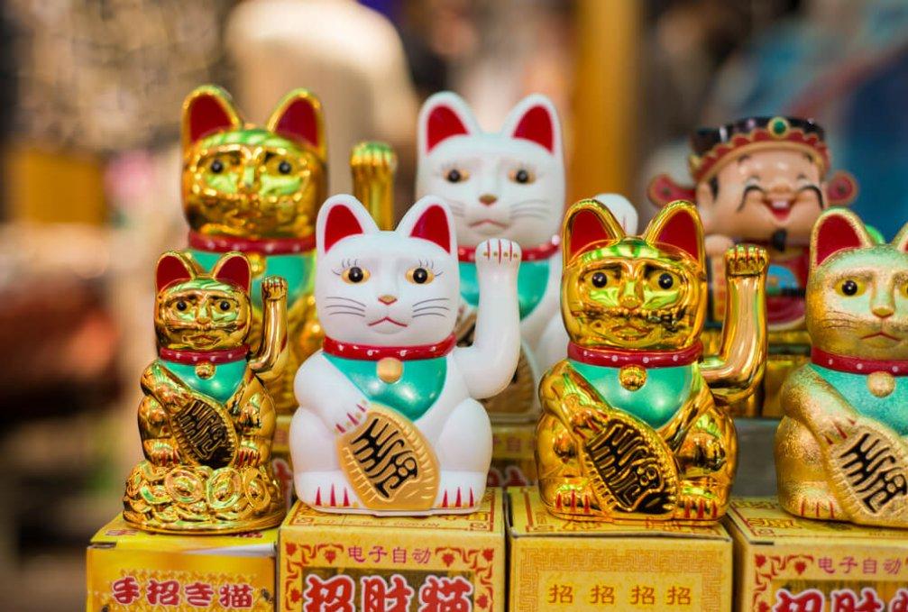 Japonya'nın Şans Kedisi Maneki Neko ile Tanışın