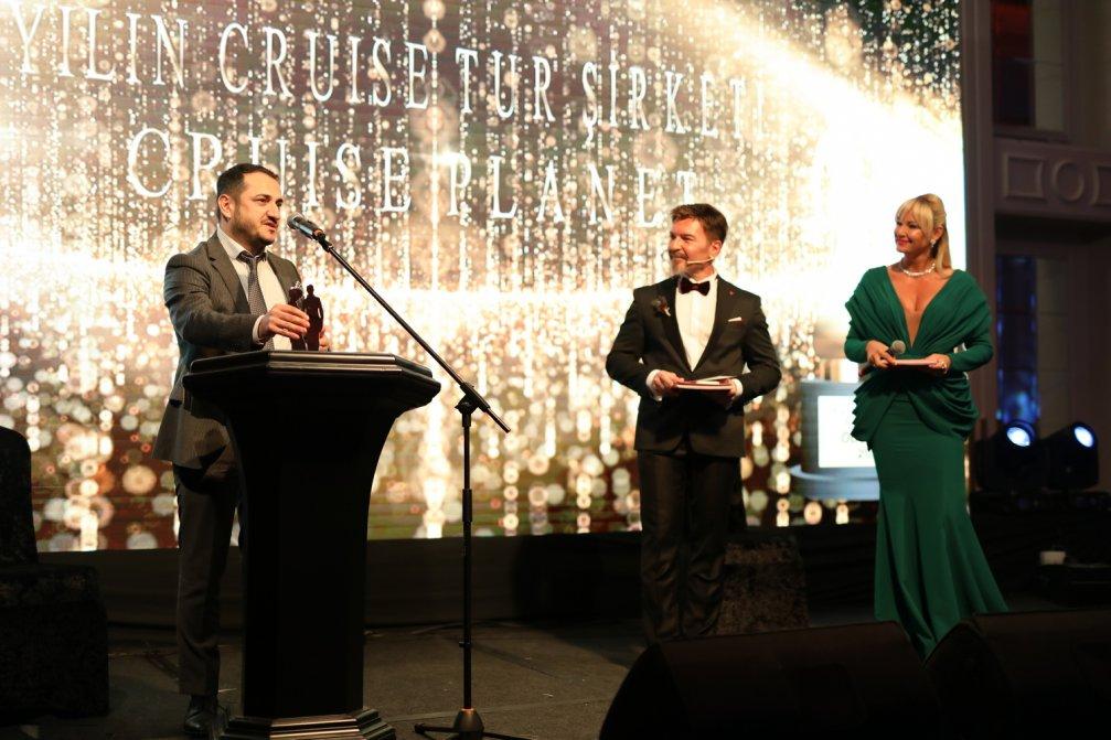 Gelin Damat Dergisinden Cruise Planet'e ''Yılın Cruise Tur Şirketi'' Ödülü