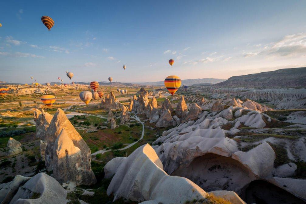Türkiye'deki Expatların Görmesi Gereken Yerler; Kapadokya