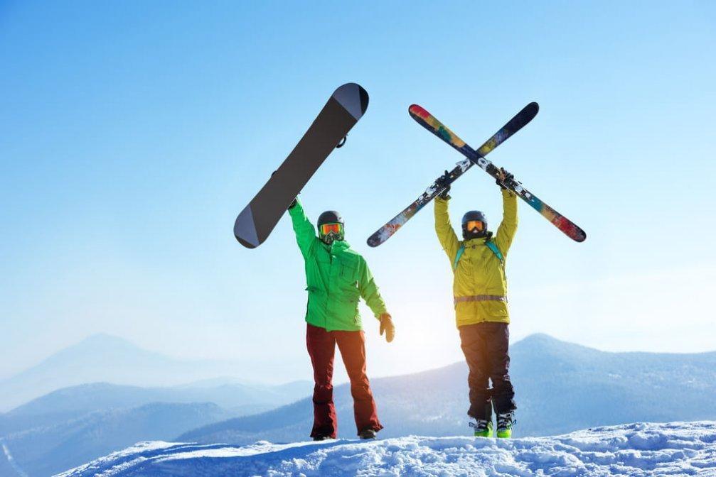 Kış Tatilcilerine 11 Kayak Rotası