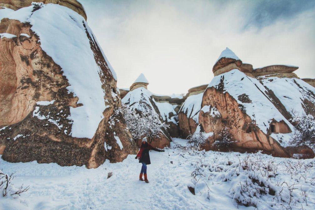 Kapadokya'yı Neden Kar Yağarken Görmelisiniz?