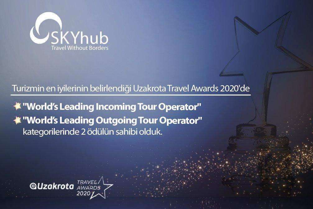 SKYhub, Uzakrota Travel Awards 2020'de 2 Ödülün Sahibi Oldu