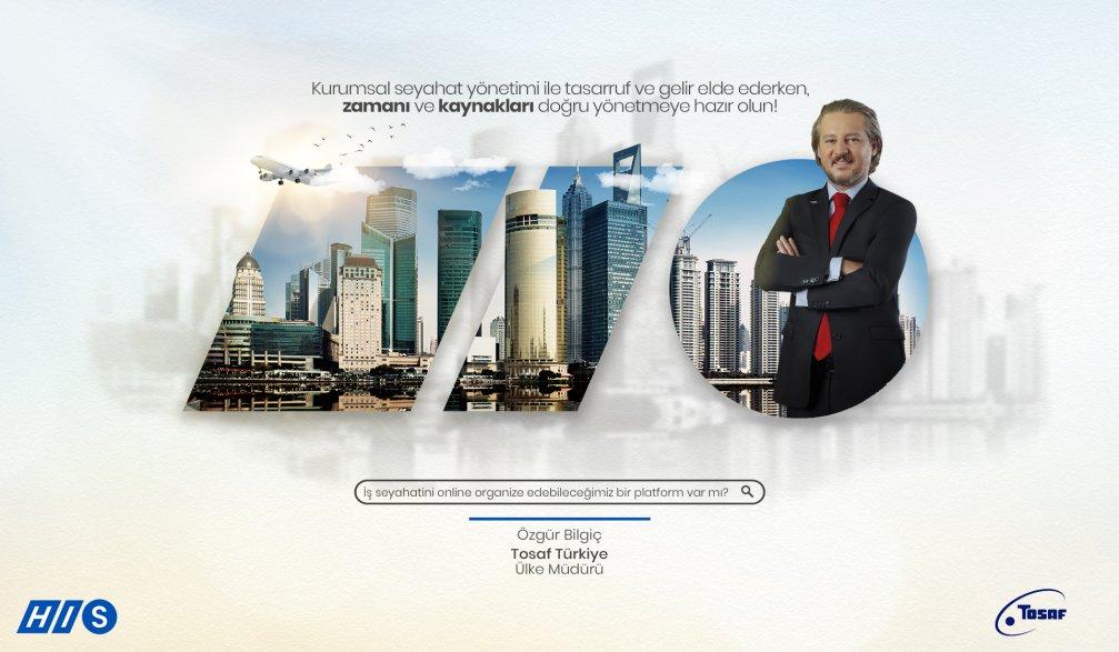TOSAF Tek Bir Platform ile İş Seyahati Süreçlerini Nasıl Yönetiyor?