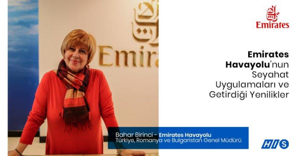 Bahar Birinci ile Emirates Havayolu'nun Seyahat Uygulamalarını ve Getirdiği Yenilikleri Konuştuk