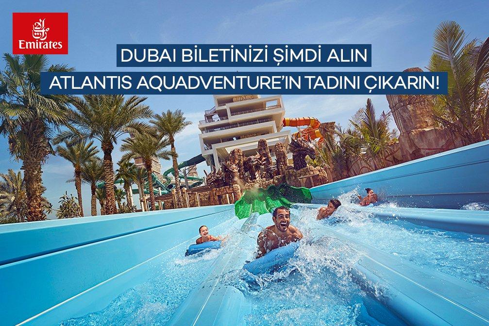 Emirates'ten Atlantis Aquaventure Kampanyası